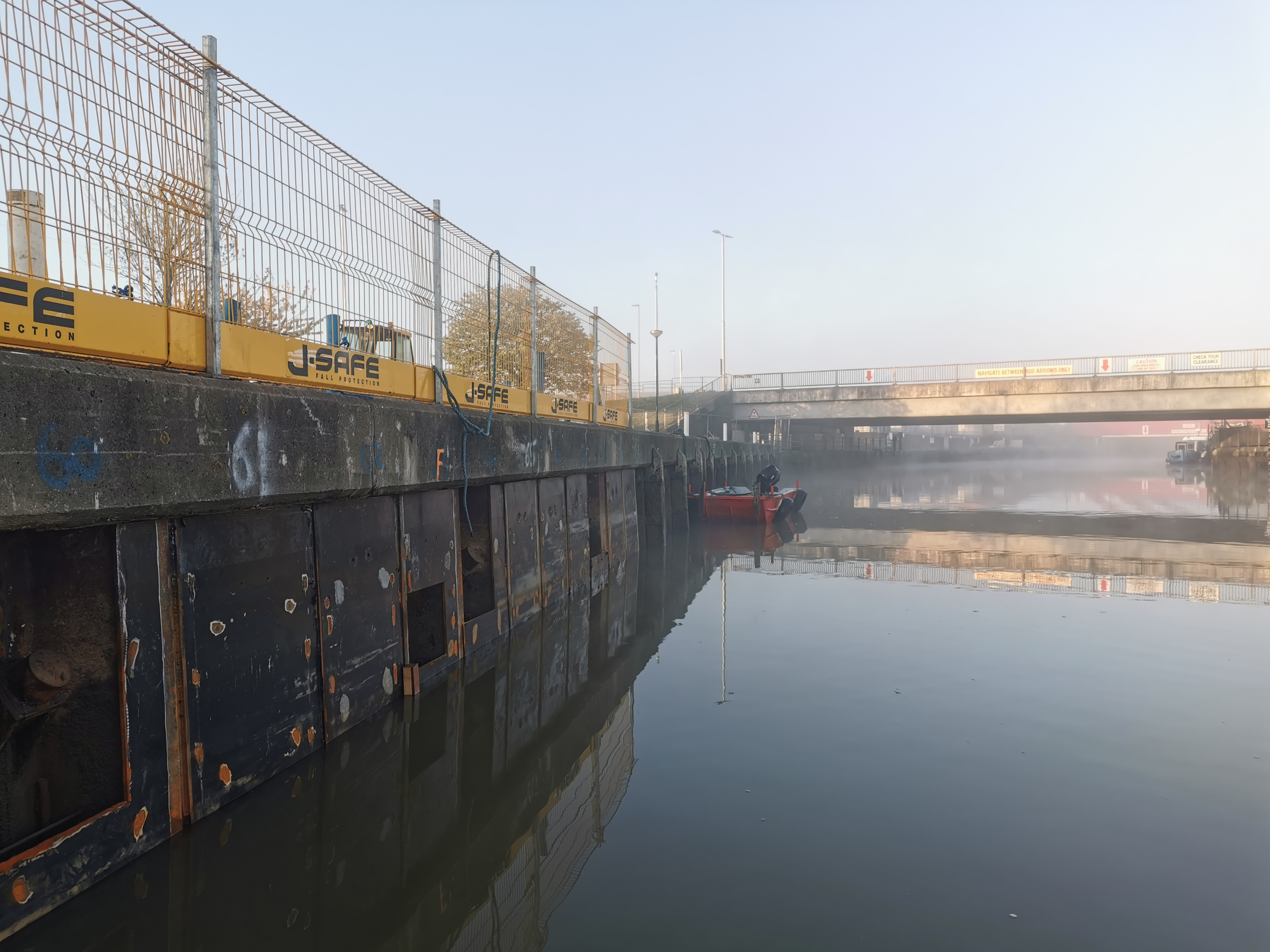 Completed Repairs at WP15 - The River Bure
